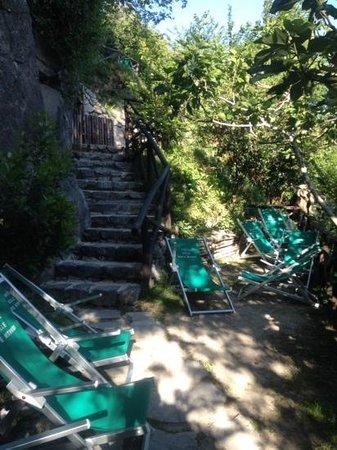 Barano d'Ischia, Italy: una delle tante zone relax