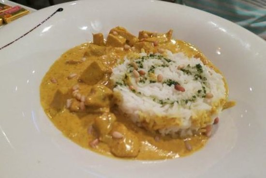 NH Nice: Chicken breast with curry (non-spicy)