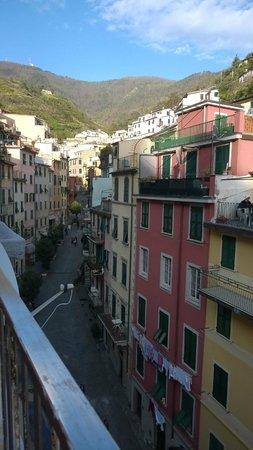 ViadeiBianchi: utsikt från takterrassen