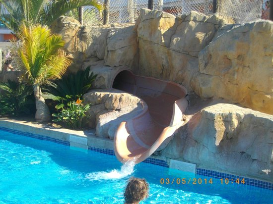 Marbella Playa Hotel: tobbogan enfants