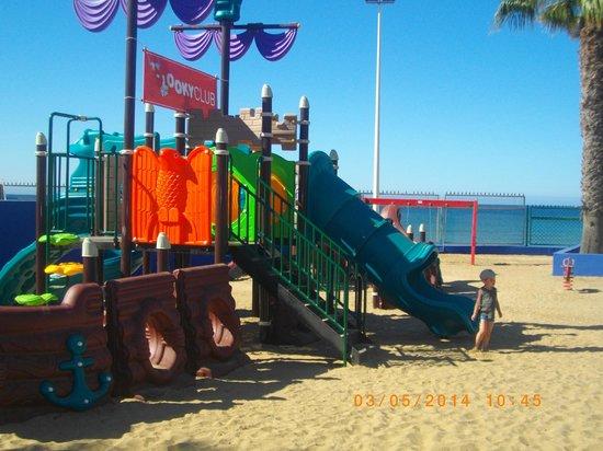 Marbella Playa Hotel: jeux enfants