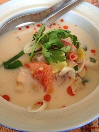 Phuket Thai Cookery School: Tom Kha Kai- I made this!