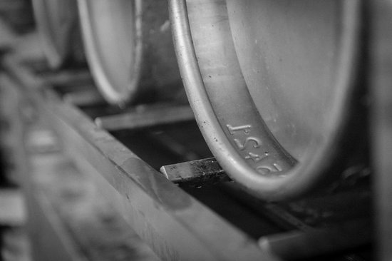 Buxton Tap House: Brewery casks