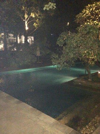 The Dharmawangsa Jakarta: outside pool area