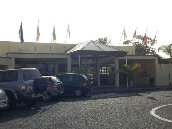 Santa Rosa: The main entrance. .