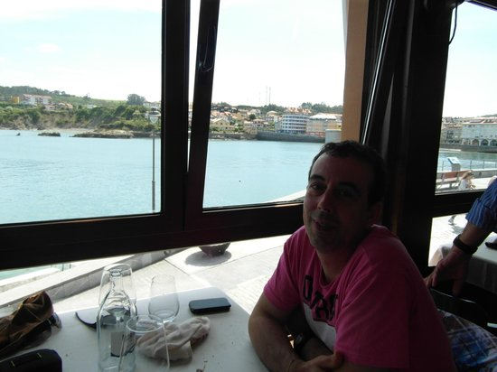 Restaurante Guernica: preciosa ubicación