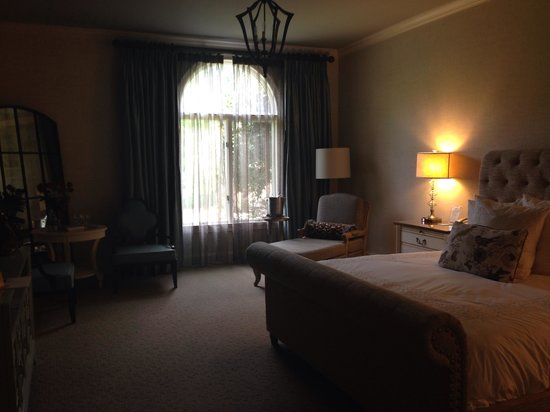 Chateau Elan Winery And Resort : The beautiful room at the spa