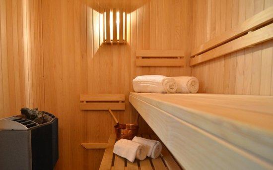 HUB PORTENO: Sauna