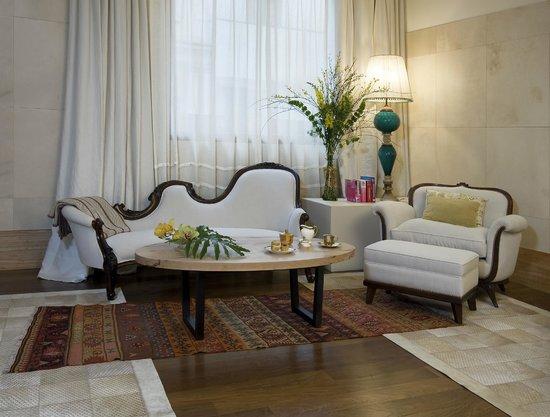 Hub Porteno: Tea time - living room