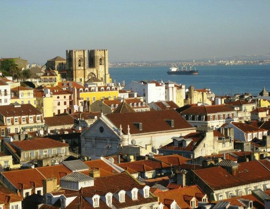 Cidade Baixa: view of the city from the top