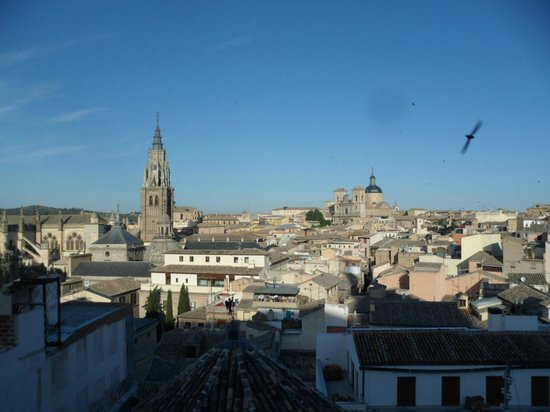 Carlos V Hotel: view from 4th floor room