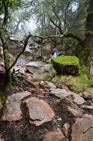 Piscia di Gallu: Pente dangereuse pour accéder à la cascade