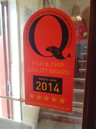 The Ashvale Fish and Chip Restaurant: A great chippy