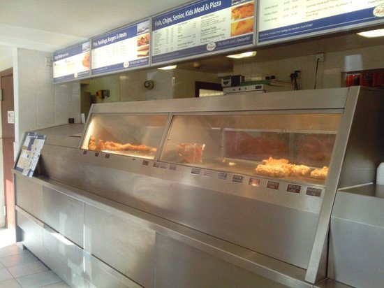 The Ashvale Fish and Chip Restaurant: Ashvale chippy,  Brechin