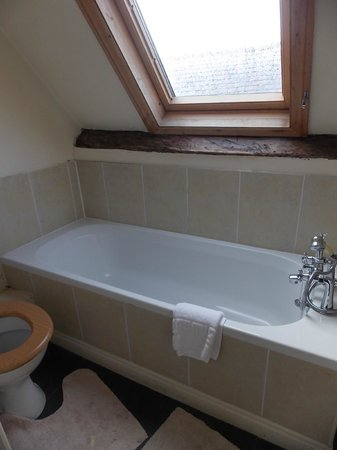 White Horse and Griffin: bathroom