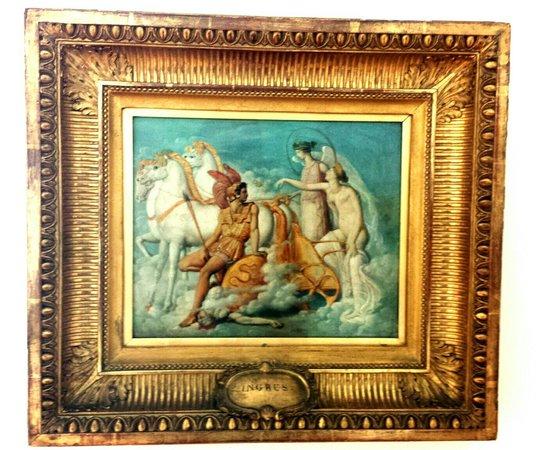 Fine Arts Museum (Kunstmuseum): Ingres:Venere,ferita da Diomede,torna sull'Olimpo