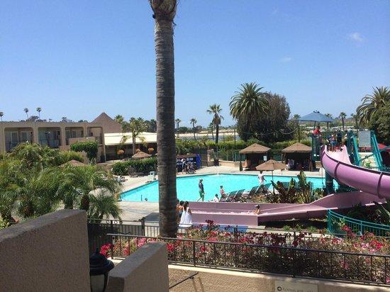 Hyatt Regency Newport Beach View Of The Main Pool Area Lots Kids