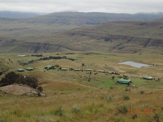 Drifters Drakensberg Inn : Etwas weiter oben auf einer Wanderung!