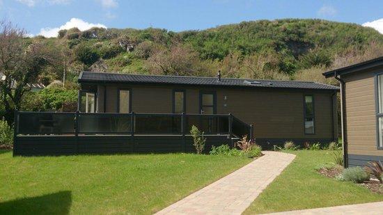 Mullion Cove Lodge Park: Lodge 13