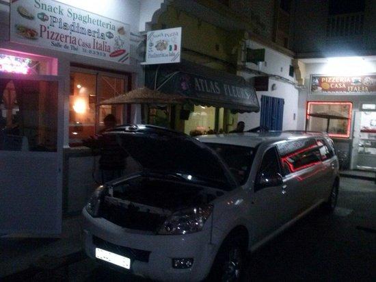 Pizzeria casa italia la plage