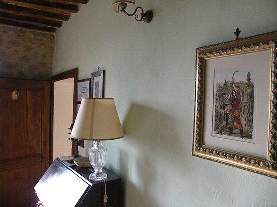Borgo Tepolini: particolare della stanza