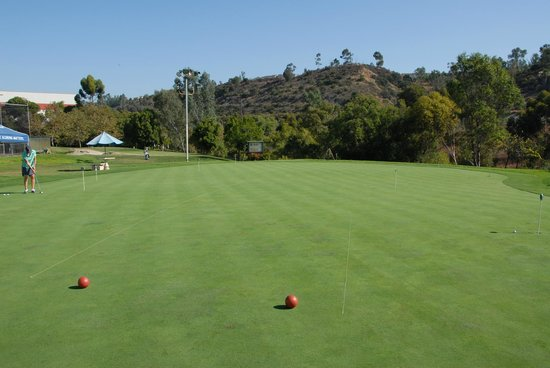 Stadium Golf Center & Batting Cages: 10,000 sq.ft Putting Green