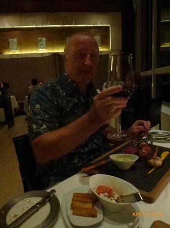 Mandarin Grill : Birthday celebrations
