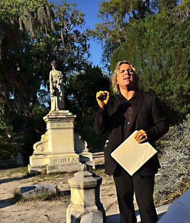 Bonaventure Cemetery : After hours tour in evening sun.
