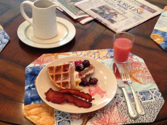 Scranton Seahorse Inn: delicious breakfast
