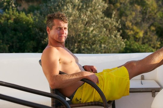 Paros Butterfly Villas: Me relaxing at the Butterfly Villas