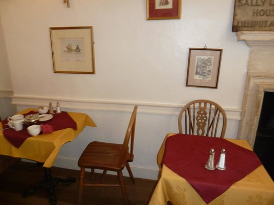 Sally Lunn's Historic Eating House & Museum : Part section on the second floor
