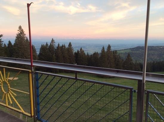 Restaurant de Montagne - Les Avattes: vue des alpes