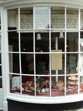Sally Lunn's Historic Eating House & Museum : Cafe front