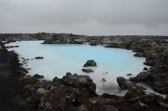Blue Lagoon: Diving in the blue....
