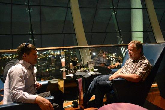 City Space Bar: русский, немец и... только поляка не хватает