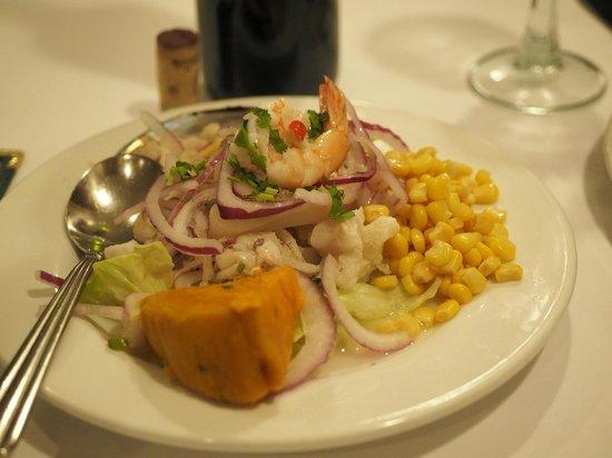 El Chalan Restaurant: Ceviche mixto