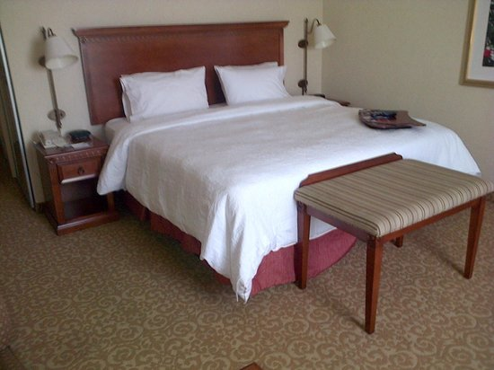 Hampton Inn & Suites Lodi: Hampton Inn Lodi bed area