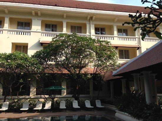 Raffles Hotel Le Royal : Ma chambre au 3ème