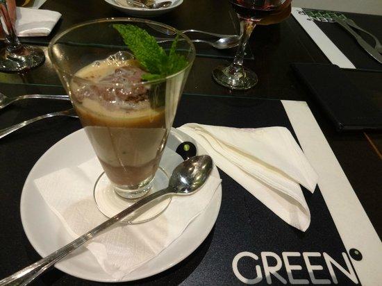 Green Pepper Lisboa - sobremesa