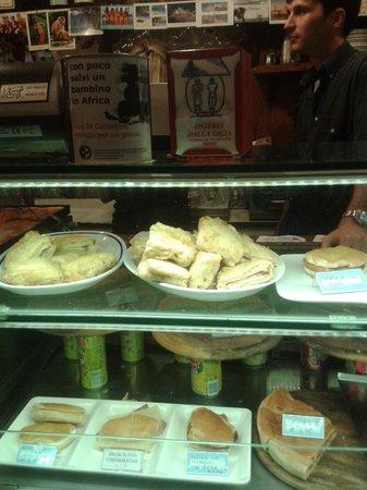Osteria dalla Gigia : mozzarelle...panini...e....
