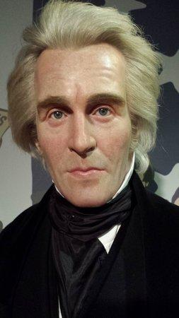 Madame Tussauds Washington D.C.: Andrew Jackson - andrew-jackson