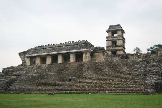 Palenque ruinas: Incredible detail for the period...