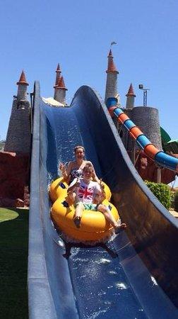 Aqua Blu Sharm: more fun on the slides