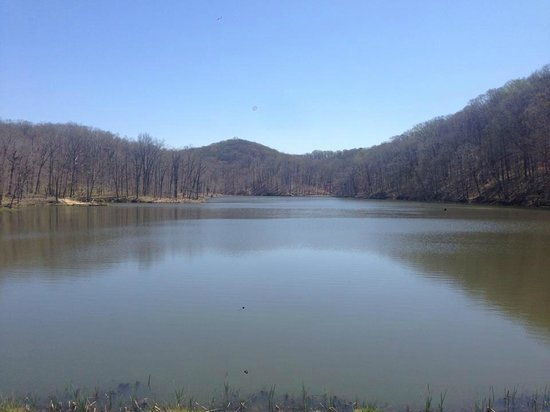 Brown County State Park : Lake View