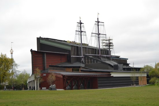 Vasa-Museum: Vasamuseet from outside