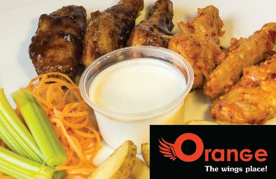 Orange Wings & Ribs