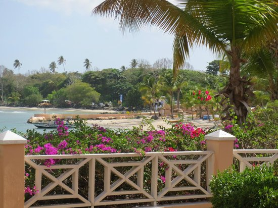Coco Reef Tobago: What a view from the balcony.