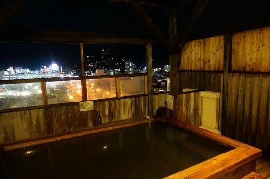 Hotel Aile: 屋上露店2