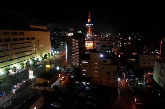 Hotel Aile: 屋上からの夜景