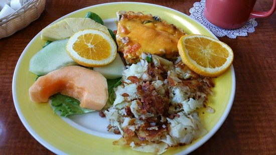 Red Apple Pancake House & Restaurant: Quiche